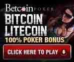best BTC poker