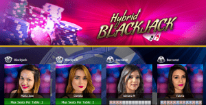 hybrid blackjack - 7bitcasino.com