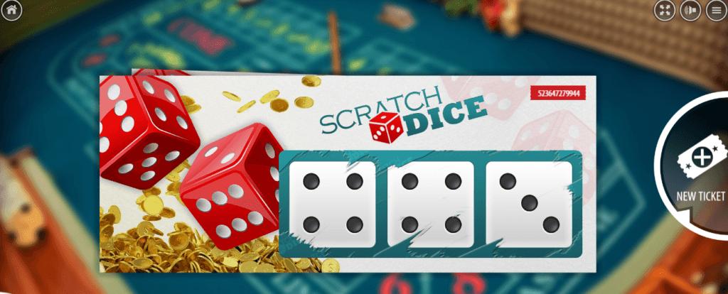Scratch Dice - Bitcoin game