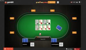 grab'em poker table screenshot