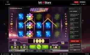 Starburst - new bitcoin game