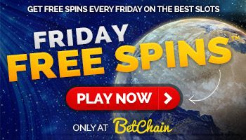 """free spins friday"" promotion"
