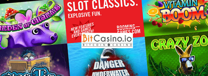 booming games integrated to bitcasino.io