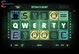 Satoshi's secret slot - QWERTY bonus screenschot