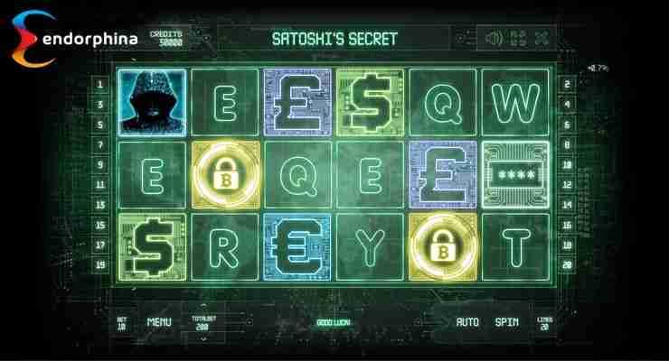 Satoshi's secret slot theme