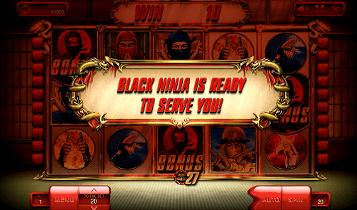 Black Ninja is ready to serve you