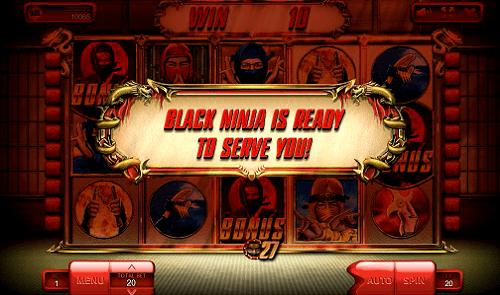 Black Ninja is ready to serve you
