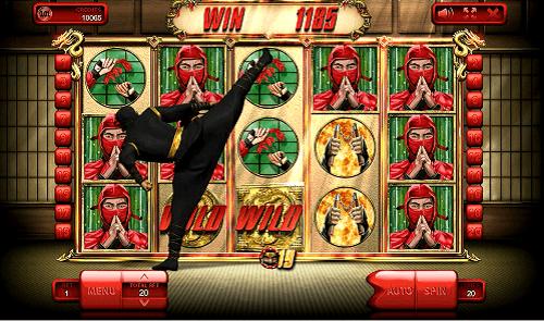 The animated Black Ninja himself