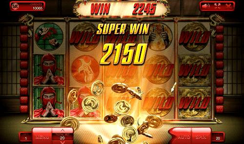 The Ninja slot - super win