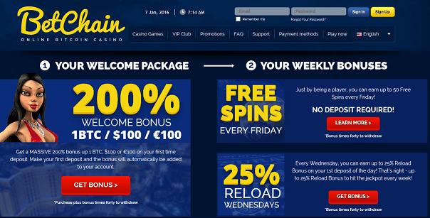 bitcoin casino news