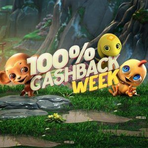 100% cashback week
