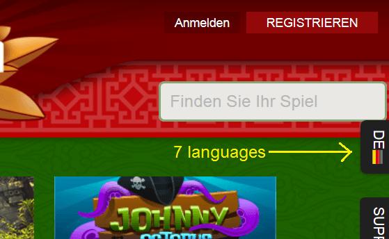 7 languages