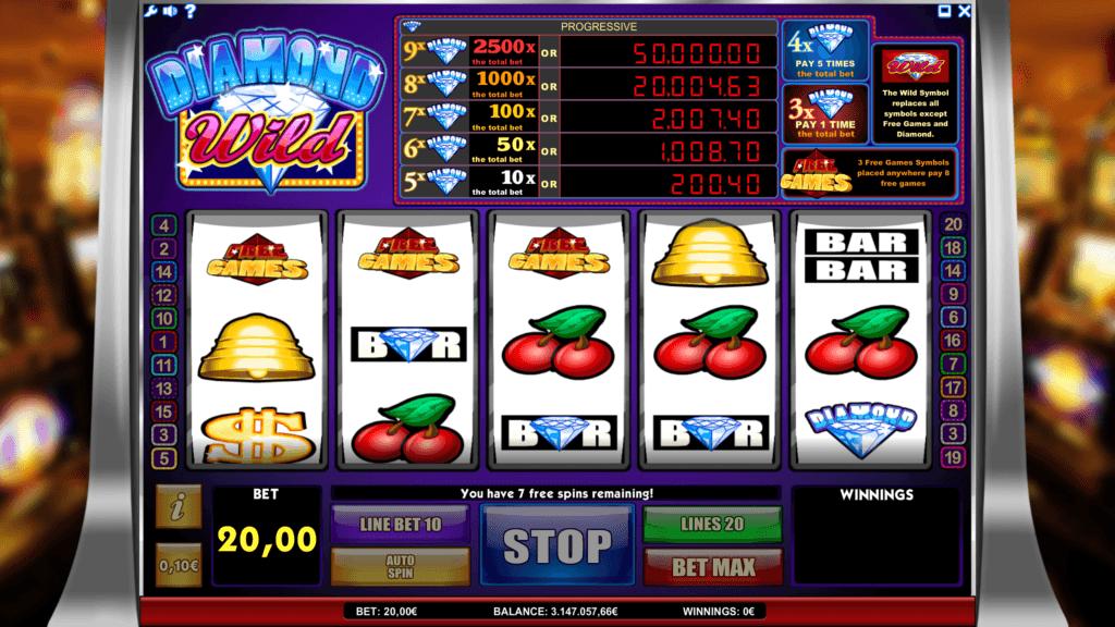 Diamond Wild slot machine