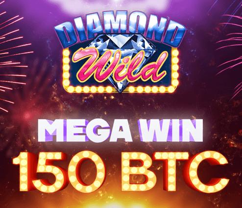 Diamond Wild - bitcoin mega win
