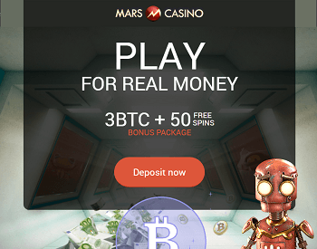 Mars casino bitcoin bonus