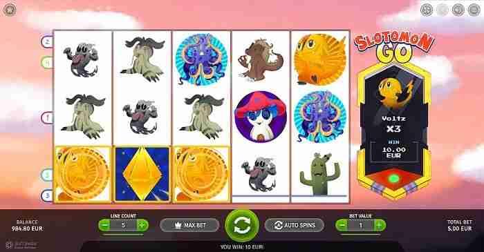 Slotomon Go slot screenshot