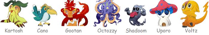 Slotomon Go symbols