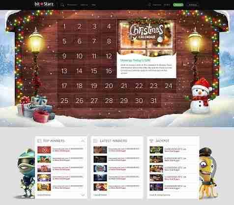 Bitstarz christmas calendar