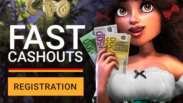 Fast Cashouts - registration