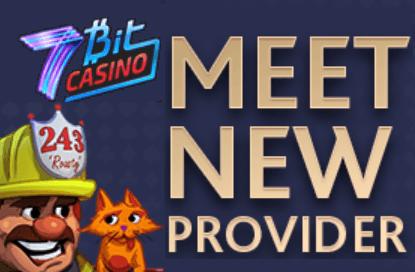 7bit casino adds new providers